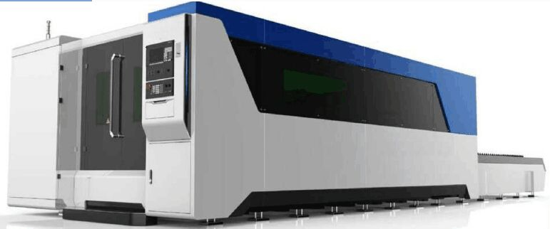 Optical fiber laser cutting machine with interchangeable table